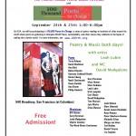 BeatMuseumFourthAnnualPoetryFestival Flyer2