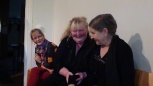 K. Valoaalto, L. Laukkarinen, Arja Kautto.